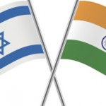 india AND ISRAEL FLAGS