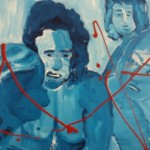 ציור בכחול 2 030