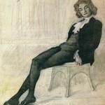 Z._Gippius_by_L.Bakst_(1906,_Tretyakov_gallery)